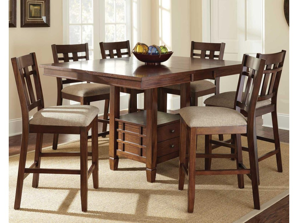 Steve Silver Bolton7 Piece Counter Height Dining Set