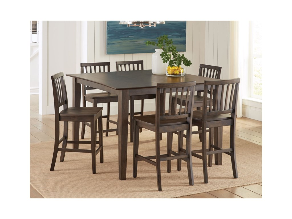 Steve Silver Branson7 Piece Counter Height Dining Set