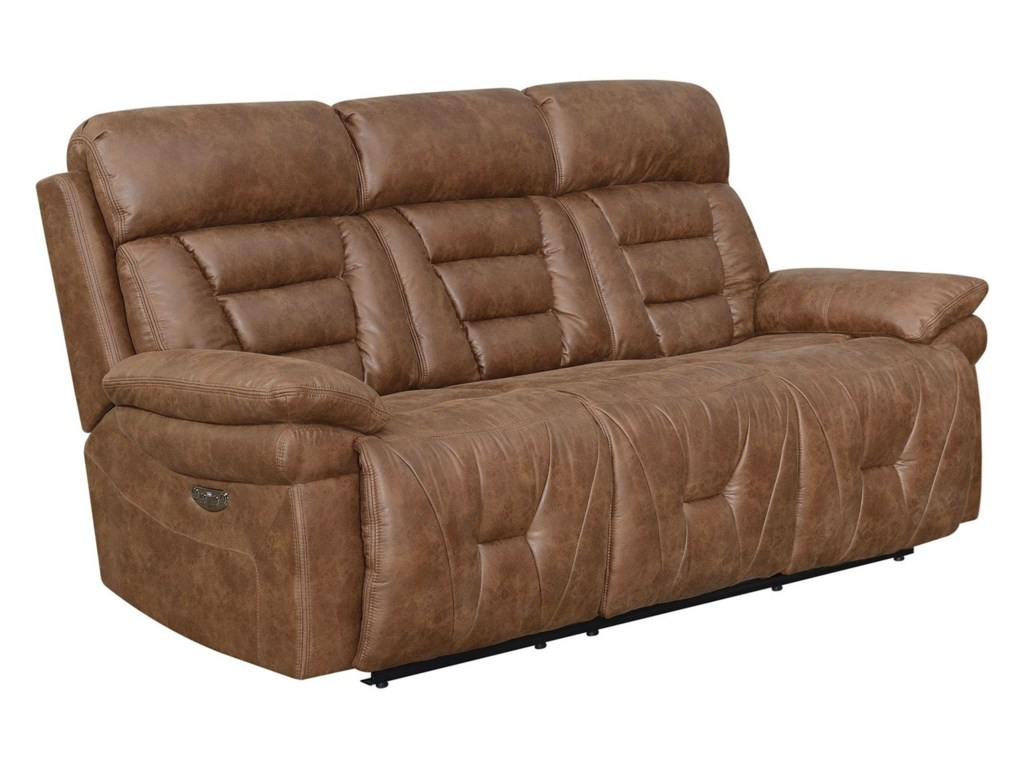 Steve Silver BrockLay Flat Power Reclining Sofa
