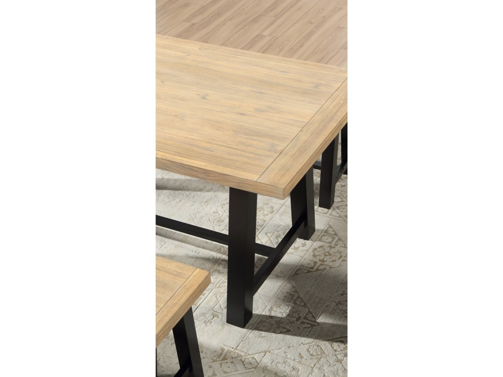 Steve Silver BurnellDining Table with 2 Benches