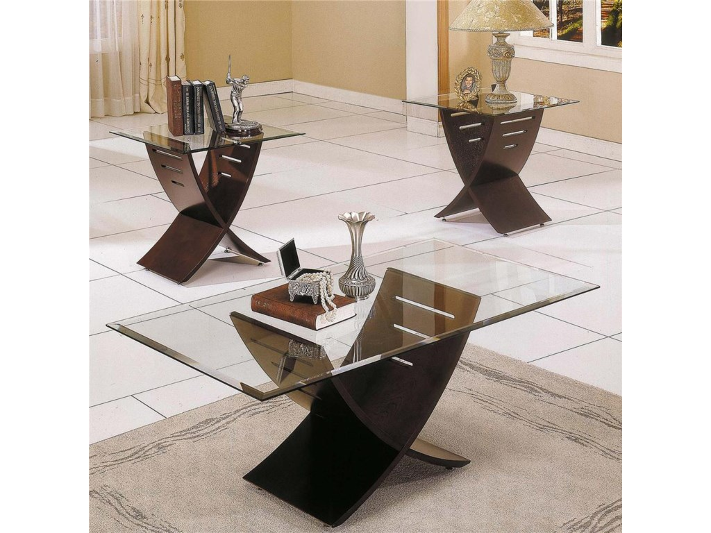 Steve Silver Cafe 3 Pack Occasional Table Group
