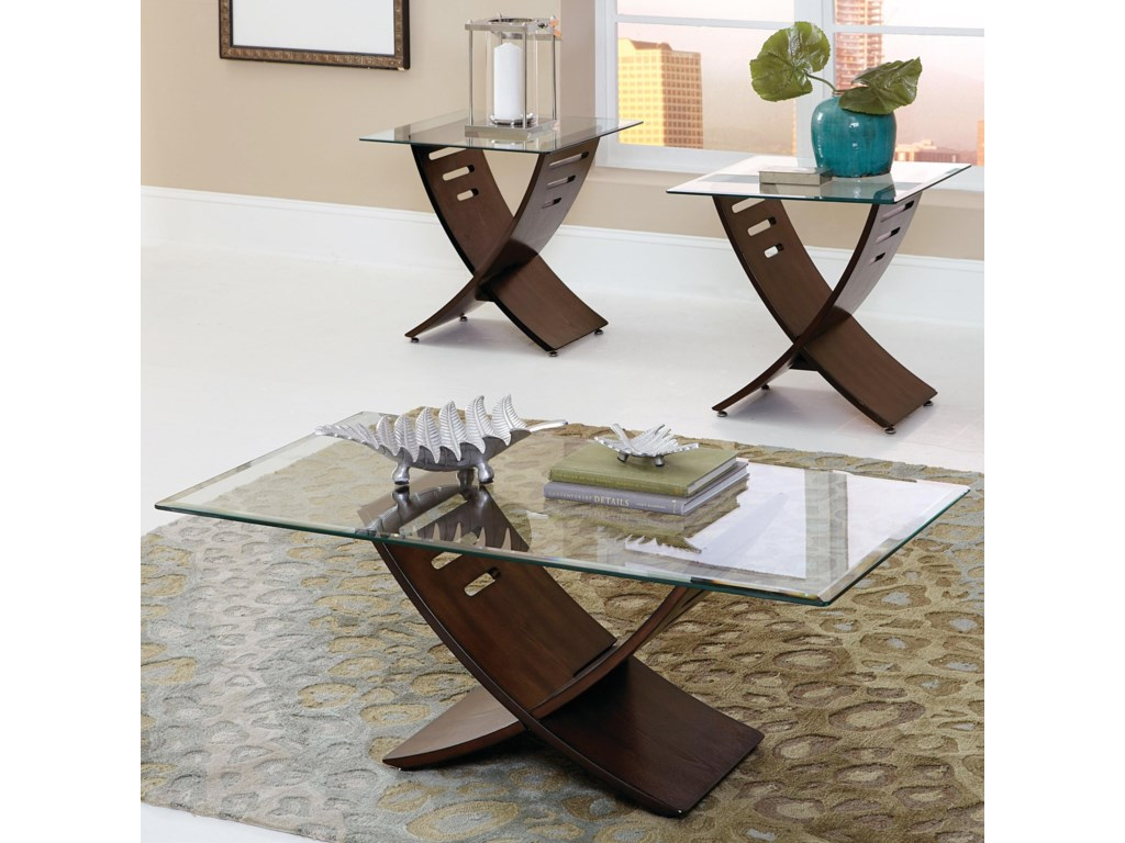 Steve Silver Cafe3 Pack Occasional Table Group