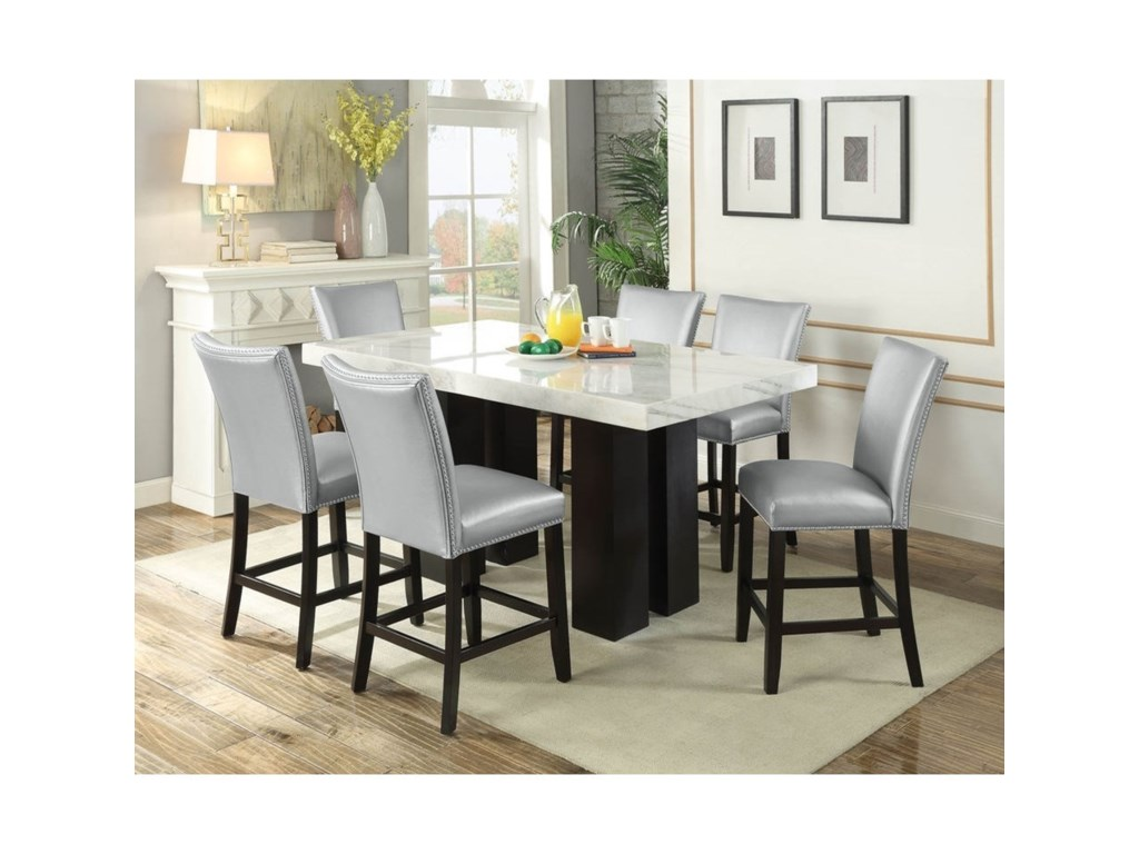 Camila Rectangular Counter Height Table