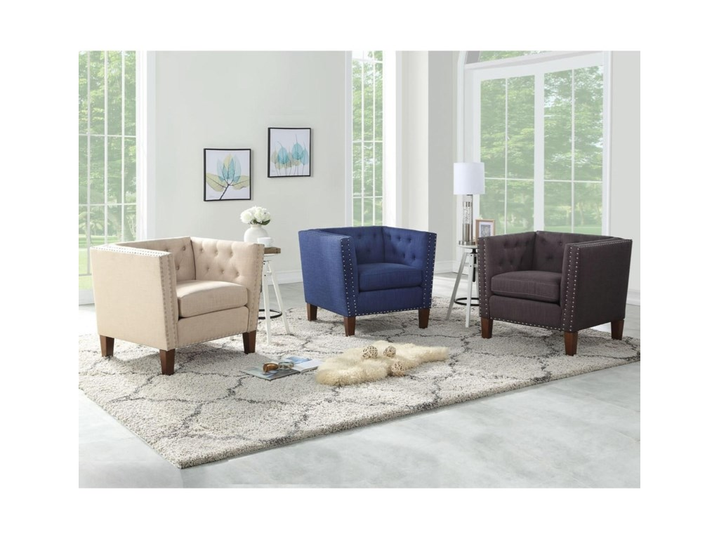 Morris Home CampbellAccent Chair