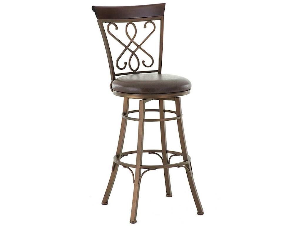 Steve Silver CarmonaSwivel Bar Chair