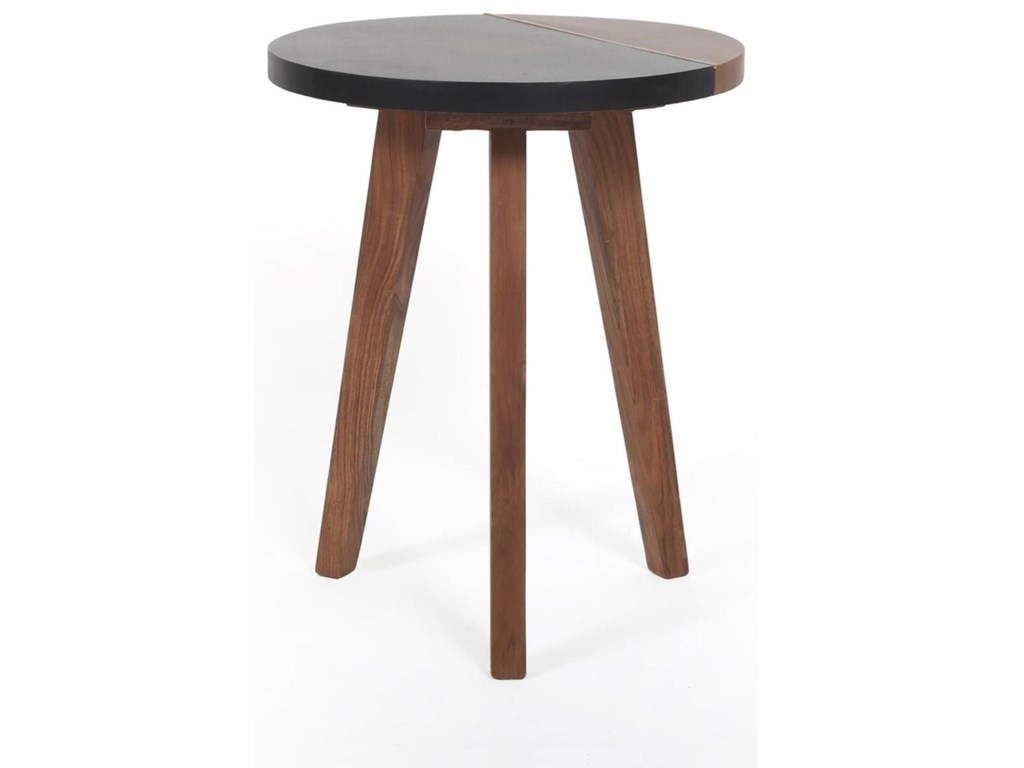 Steve Silver CaspianRound Accent End Table