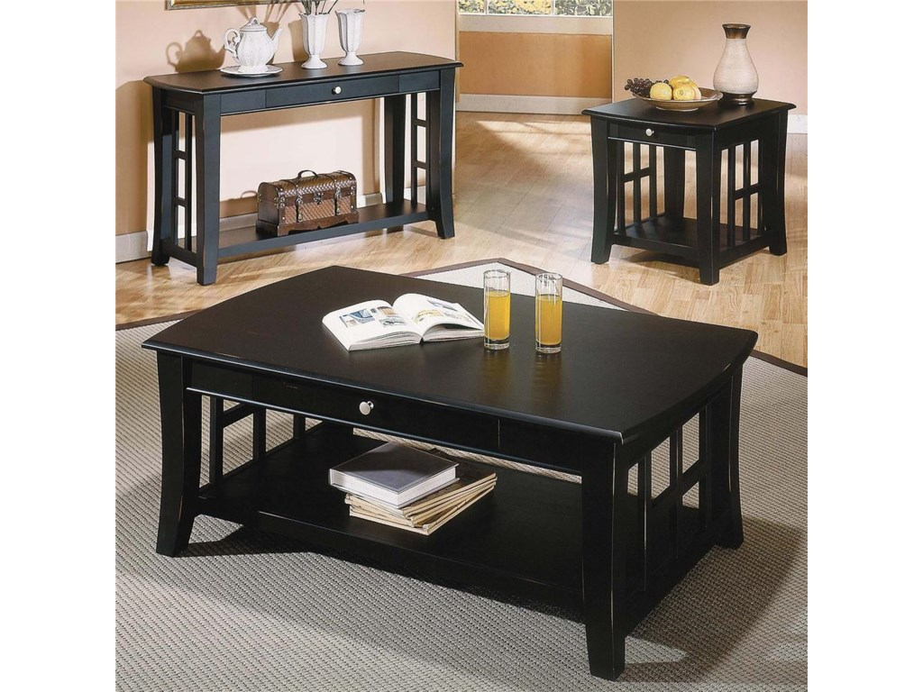 Shown with Sofa Table & Cocktail Table