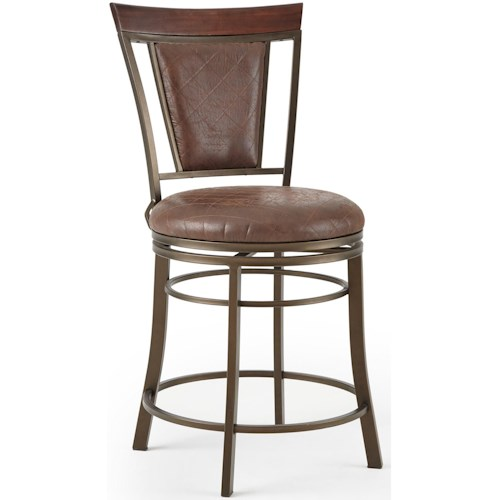 Steve Silver Cecile 360° Swivel Counter Chair With Flame Retardant Seat