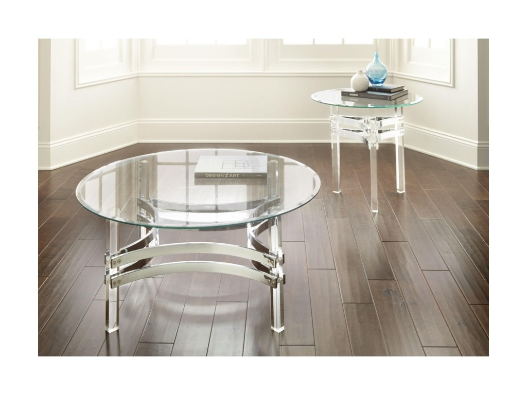 Steve Silver ClayhillEnd Table