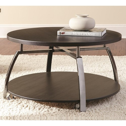 Steve Silver Coham Round Cocktail Table