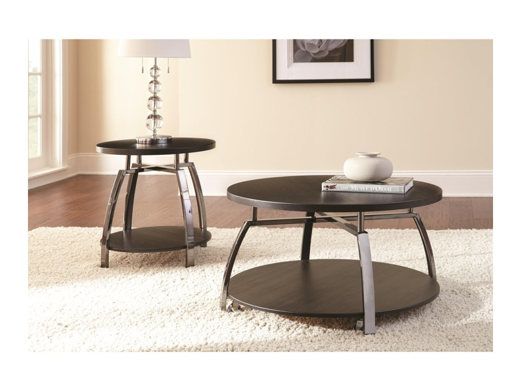 Steve Silver CohamEnd Table