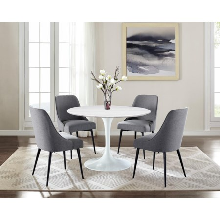 5-Piece Tables and Chairs Set