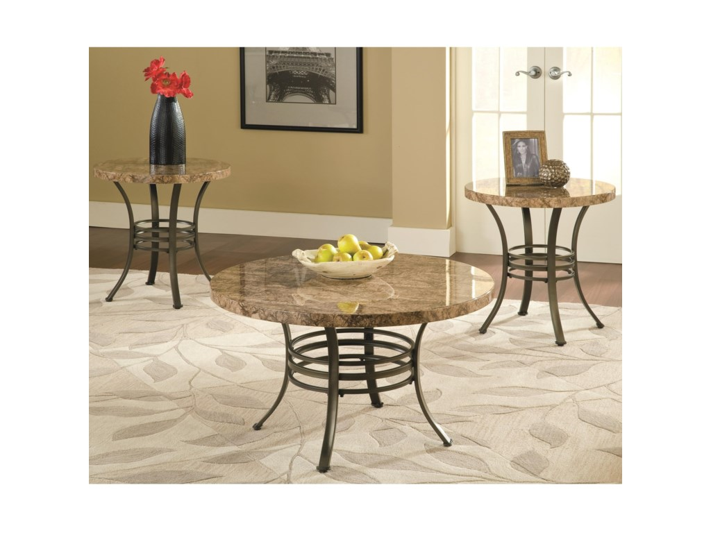 Steve Silver Collison3 Piece Table Group
