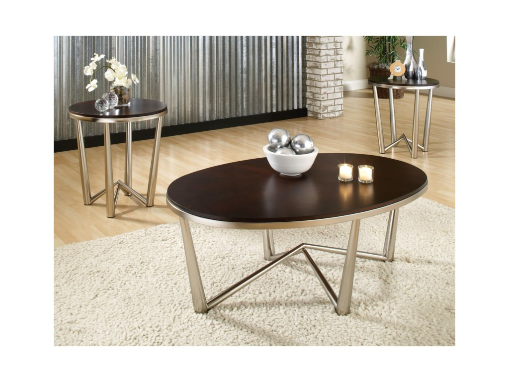 Steve Silver Cosmo3-Pack of Occasional Tables