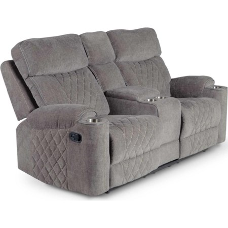 Console Manual Motion Loveseat