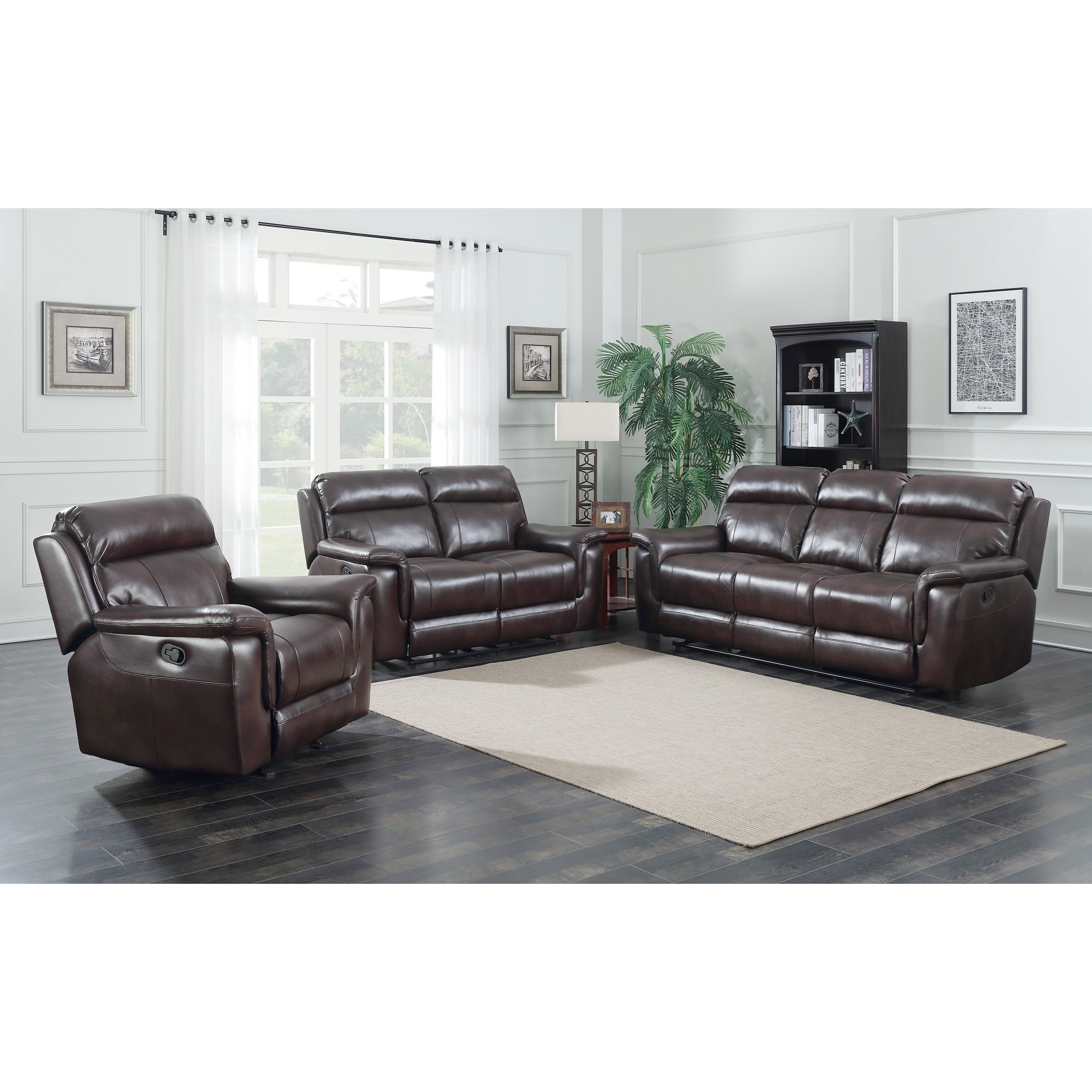 incredible Darvin Furniture Prices Part - 7: Steve Silver DakotaReclining Living Room Group ...