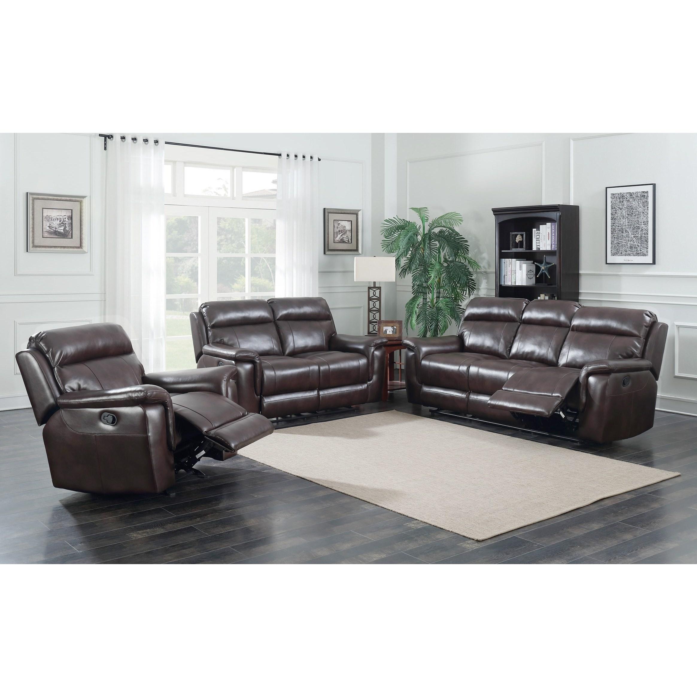 ... Morris Home DakotaReclining Sofa