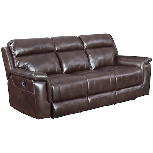 Steve Silver Dakota Lay Flat Reclining Sofa