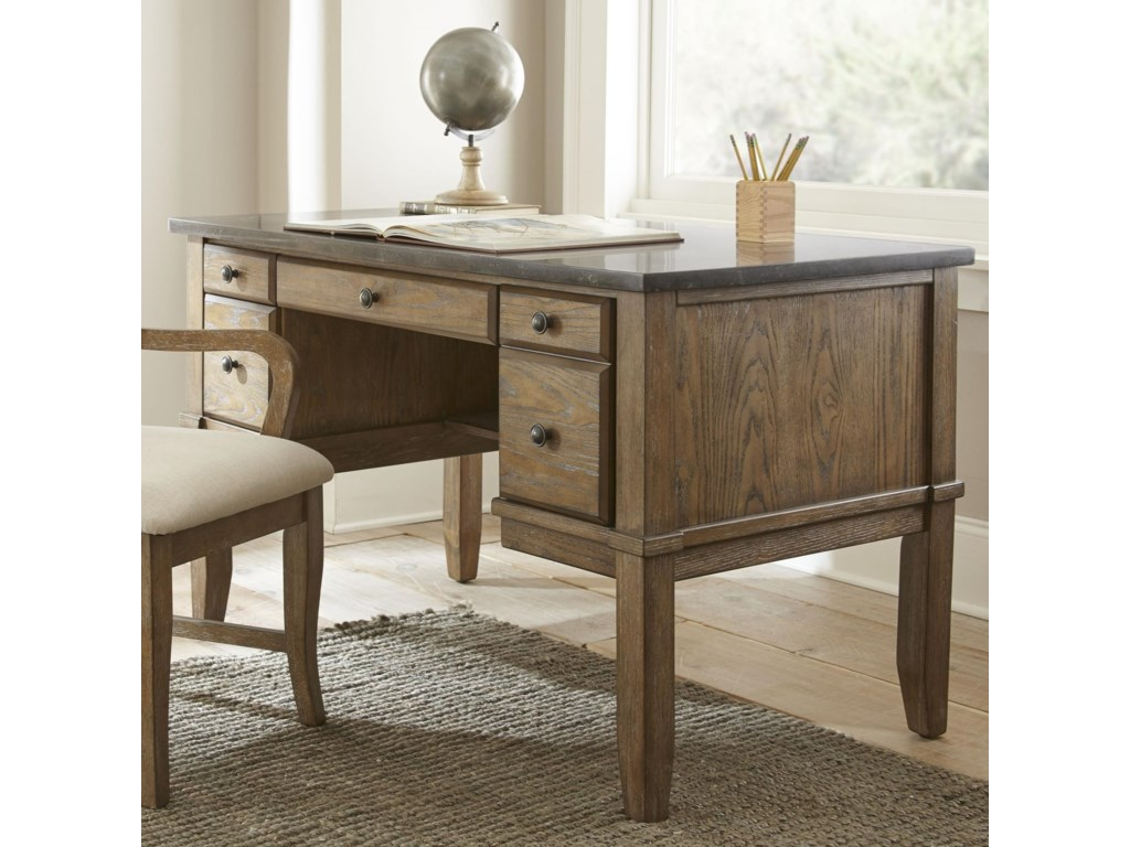 Morris Home DebbyBluestone Writing Desk