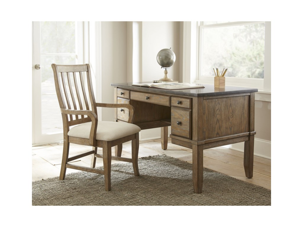 Steve Silver DebbyBluestone Writing Desk