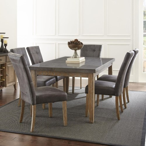 set dining steve cupboard piece furniture silver abaco kitchen room table brands rectangular ht by
