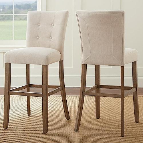 Steve Silver Debby Upholstered Bar Chair