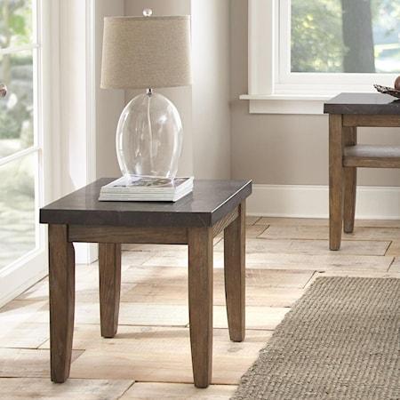 Bluestone End Table