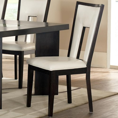 Steve Silver Delano Dining Side Chair with Upholstered Seat