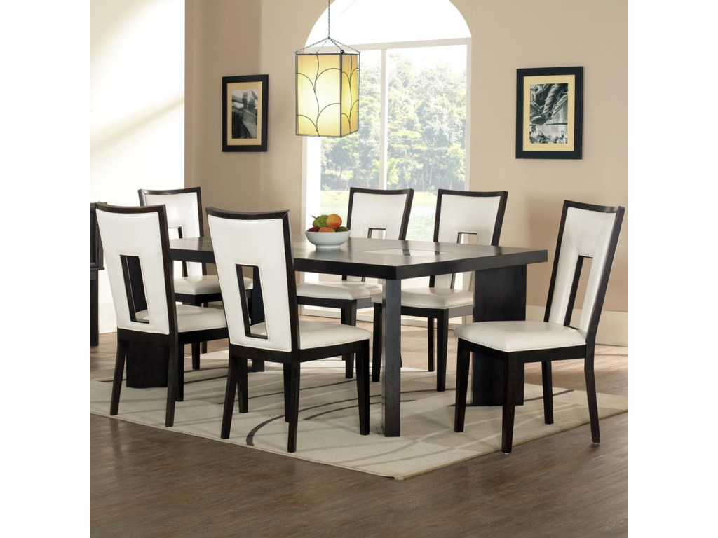 Steve Silver Delano7-Piece Dining Table and Chair Set