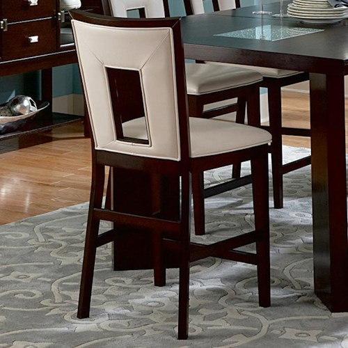 Steve Silver Delano Contemporary Counter Height Dining Side Chair