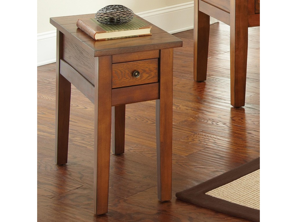 Desoto Chairside End Table With Drawer By Prime At Prime Brothers Furniture