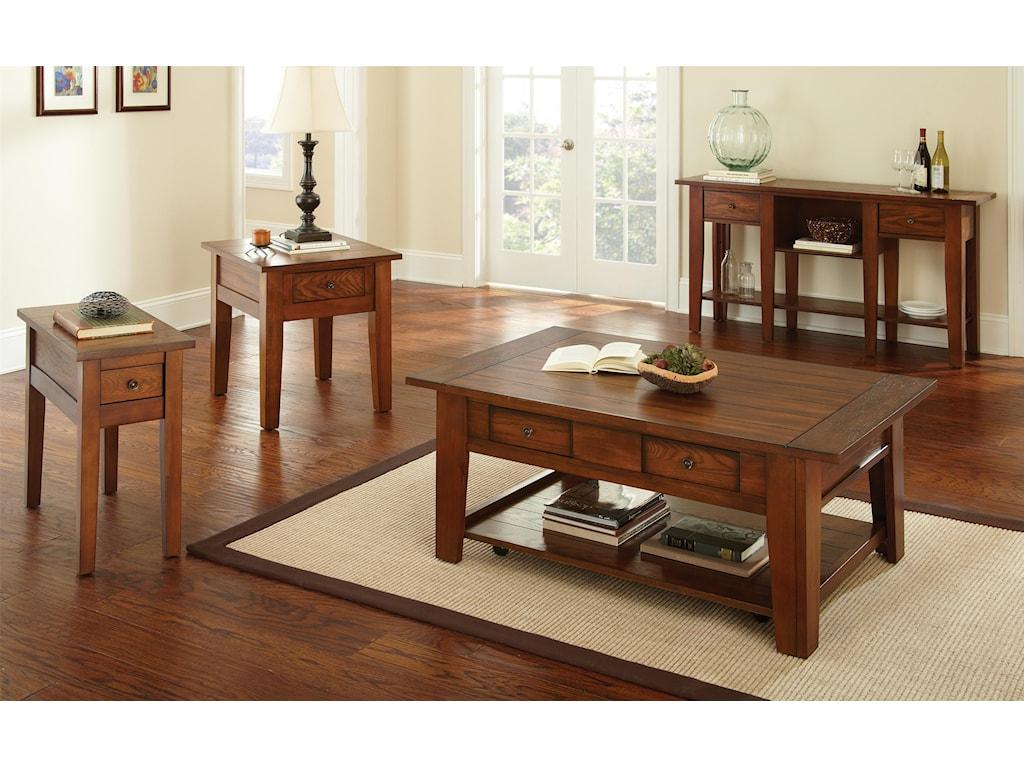 Prime DesotoChairside End Table