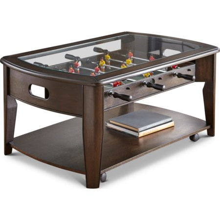 Cocktail Table w/Foosball