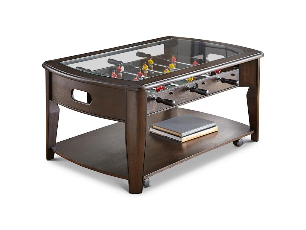Vendor 3985 DilettaCocktail Table w/Foosball