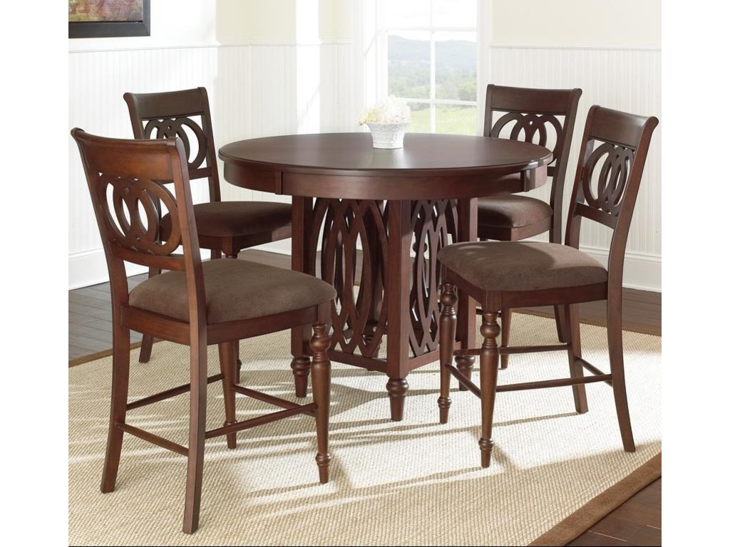 Steve Silver Dolly5 Piece Counter Height Dining Set