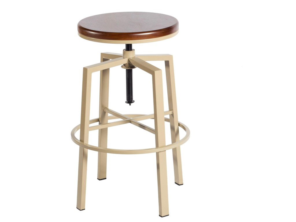 Star DorianBackless Adjustable Barstool