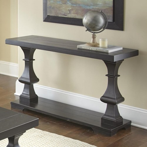 Steve Silver Dory Sofa Table with Plank Effect Top