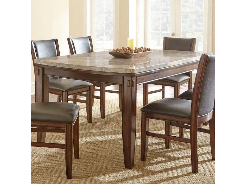 Steve Silver EileenMarble Top Dining Table
