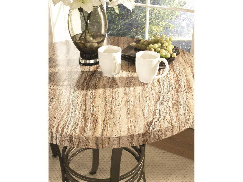 Steve Silver EllenFaux Marble Counter Table
