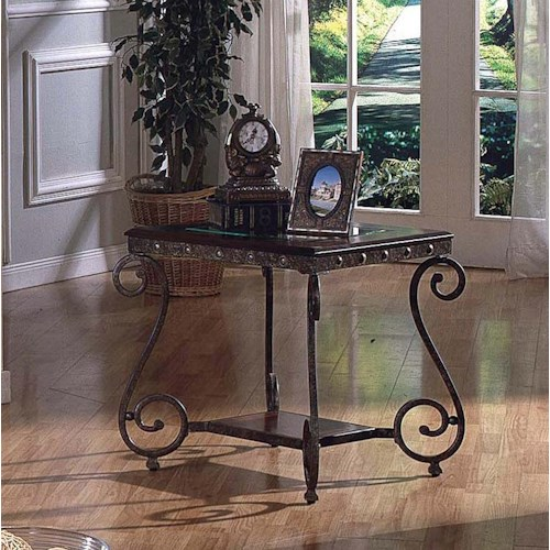 Steve Silver Ellery Square End Table