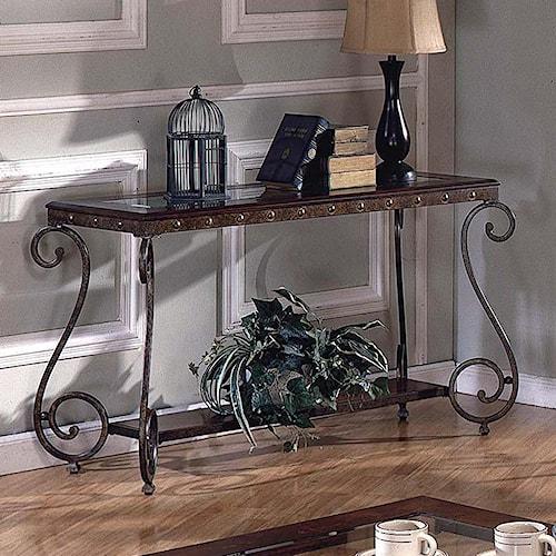 Steve Silver Ellery Rectangular Sofa Table