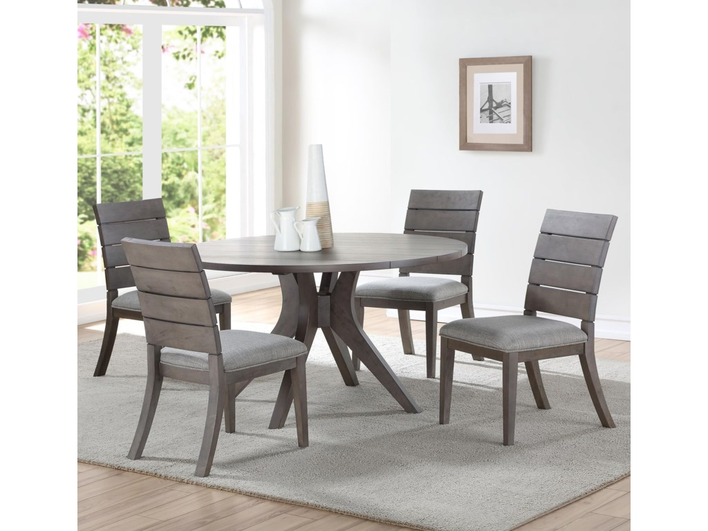 Steve Silver Elora5 Piece Table and Chair Set