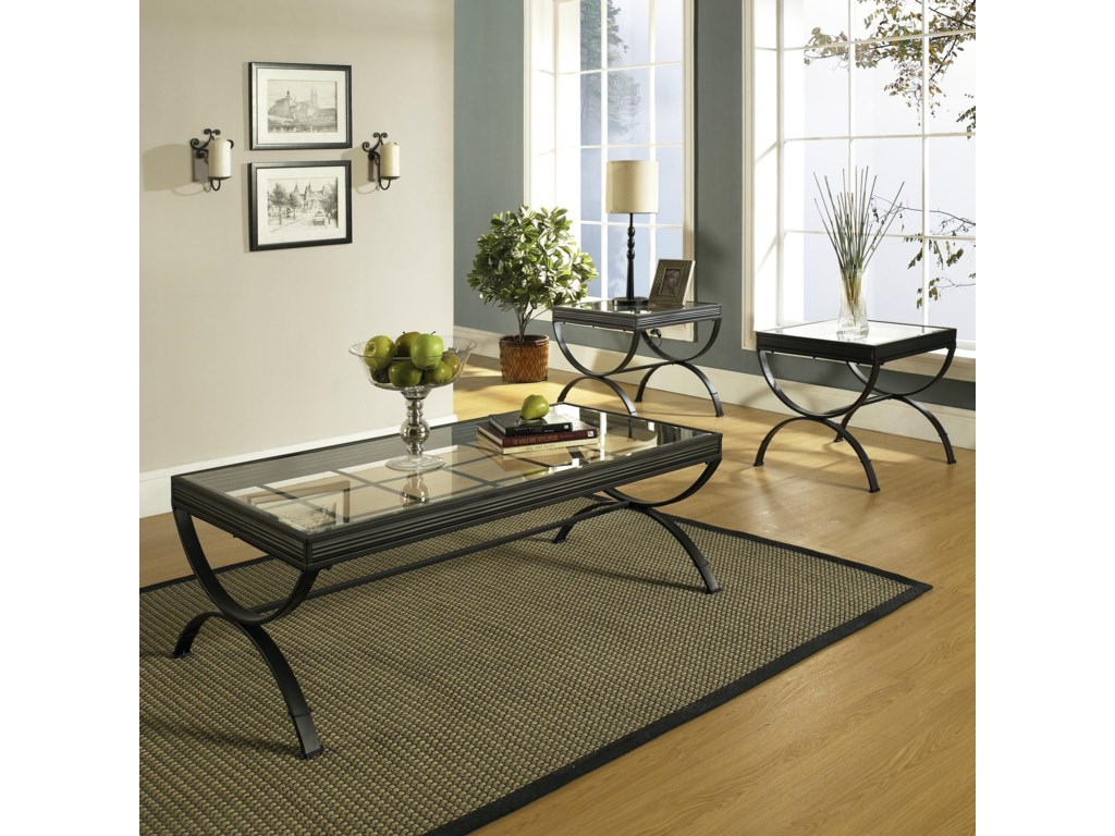 Steve Silver Emerson EM3 Pack Occasional Table