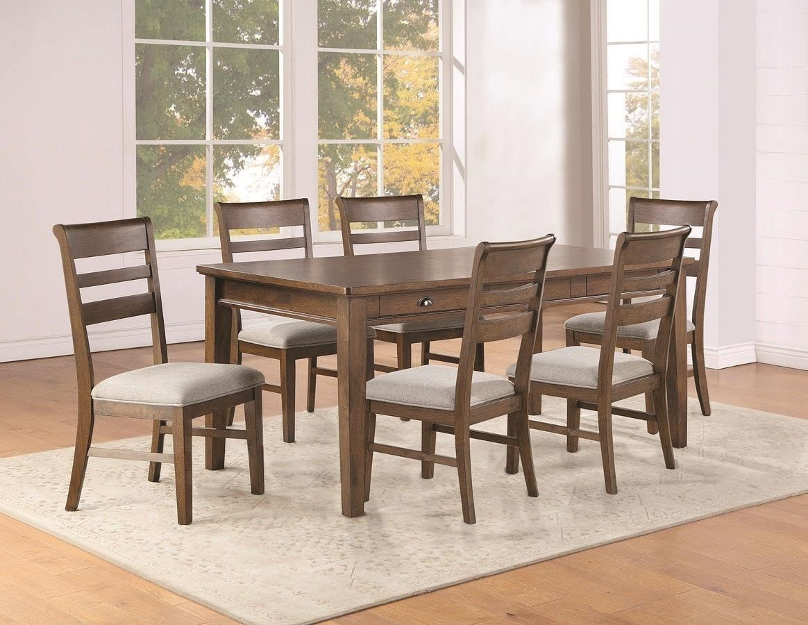 5-Piece Dining Set includes Table and 4 Side Chairs