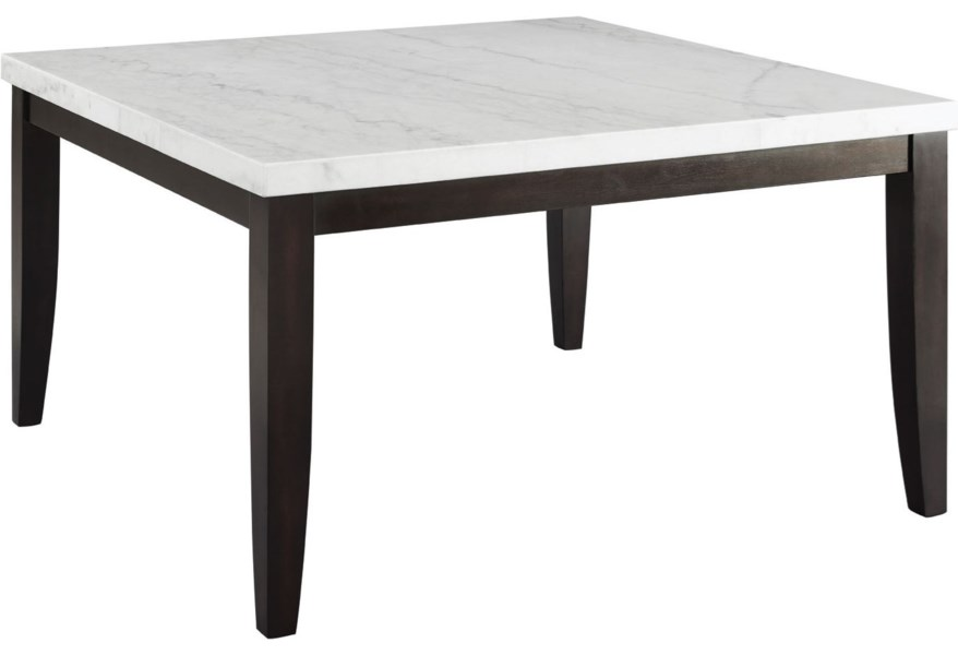 Steve Silver Francis Contemporary Square Dining Table with ...