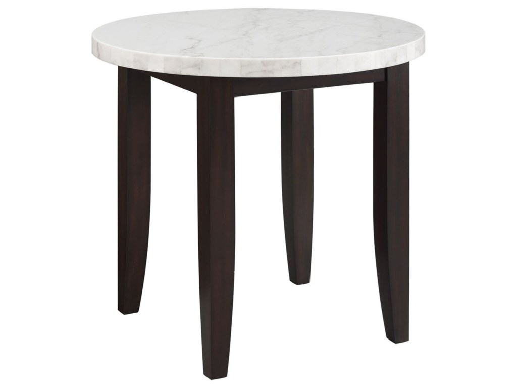 Prime Francis Contemporary Round Counter Height Dining Table With