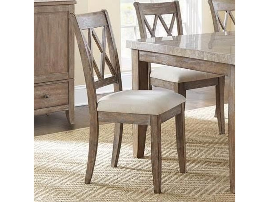 Steve Silver FrancoDouble X Back Dining Chair