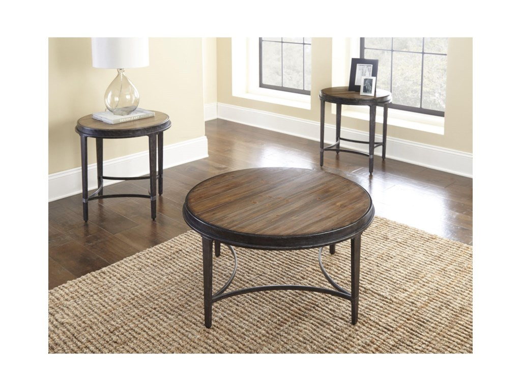 Steve Silver GiannaRound End Table