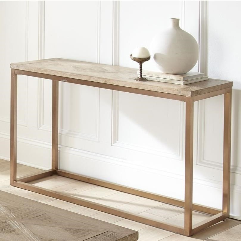 Steve Silver Gino Gn700s Contemporary Sofa Table With