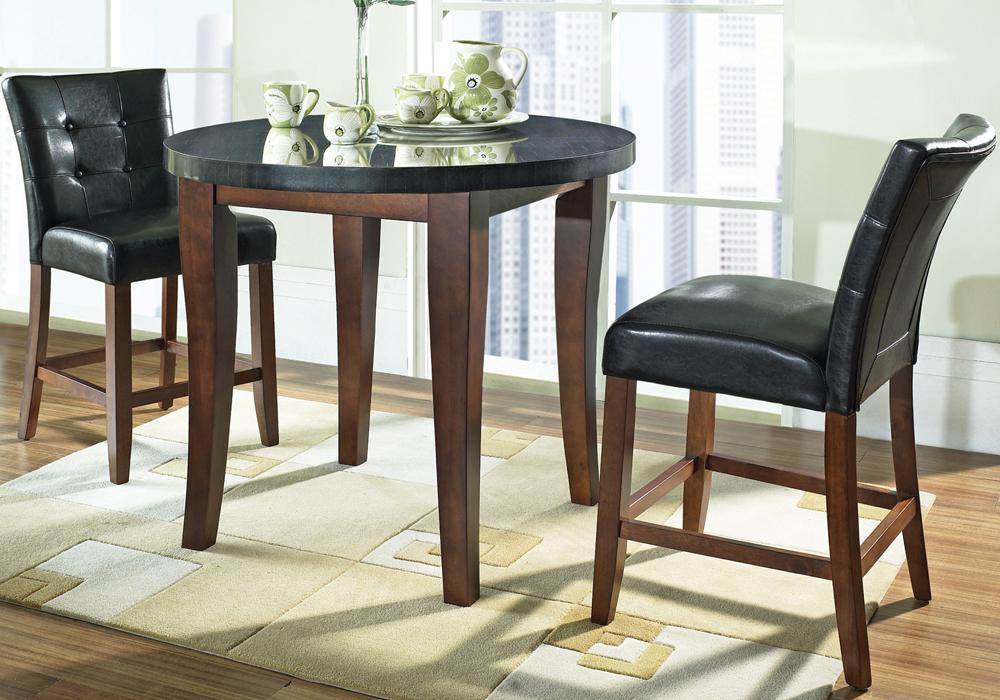 Superieur ... Morris Home Granite BelloBlack Vinyl Counter Height Parsons Chair